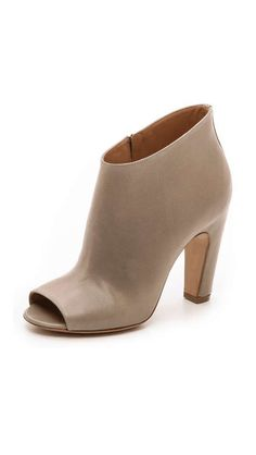 Love the Maison Martin Margiela Leather Open Toe Booties on Wantering.