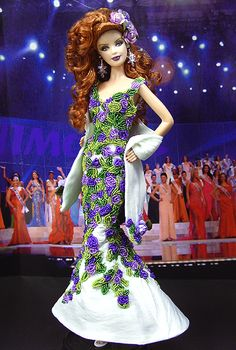 """๑Miss Mississippi 2009' --  I guess some talented person """"made"""" her!  I'm impressed!"""