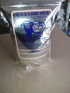 La mejor leche para corderos y cabritos