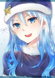 I wish I knew who the artist is so I can credit them, Juvia is so pretty in this picture!