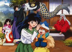 Kagome's Modern Party Favors - Inuyasha Wallpaper ID 467262 - Desktop Nexus Anime