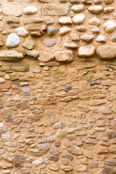 Rocks and bricks make an abstract pattern on a wall at Aztec Ruins National Monument, New Mexico. Aztec Ruins, Game App, New Mexico, Bricks, Abstract Pattern, Stones, Places, Wall, Photography