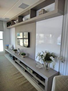 Living: Salas de estar modernas por Gabriela Herde Arquitetura & Design #decoraciondecocinasmodernas