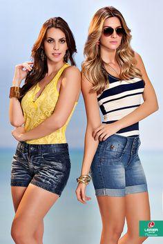 Lemier Jeans Premium | Summer 2015 | Verão 2015 | regata feminina; shorts jeans feminino; jeanswear; look feminino.