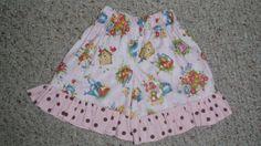 Spring/Summer Girls Ruffled Shorts by KidsAtelier on Etsy, $16.50