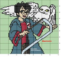 Harry Potter hama perler pattern by Mauricette