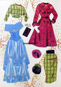 Sandra Dee Lace-Up paper doll clothes / eBay