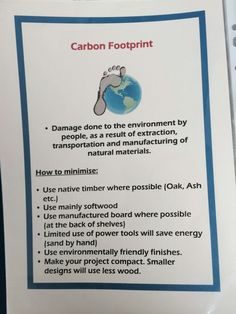 Carbon footprint Carbon Footprint, Natural Materials, Woodworking Projects, Woodworking Crafts, Wood Carving, Woodworking