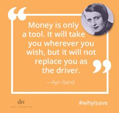 Beyonce, Oprah Winfrey, Jennifer Lawrence, and more give powerful quotes on saving money. Ayn Rand, Wealth Creation, Global Economy, Powerful Quotes, Women In History, Trust Yourself, Woman Quotes, Personal Finance, Best Quotes