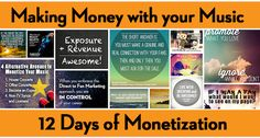12 Days of Monetization – A Summary of the 13-part Cyber PR Guest Post Series | CyberPR Music