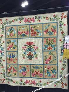 A Little Bird Told Me I Could Applique by Marie Blunk