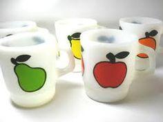 fireking fruit mugs