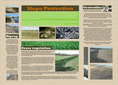 Embankment slope protection. Higgins, Division of Water Resources, Kansas Department of Agriculture.