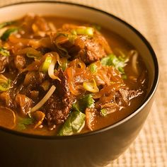 Recipe of the Day!> Orange Ginger Beef> It's a stew and a salad in the same bowl!