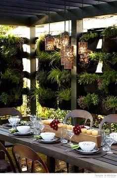 Bondville: Vertical garden trend