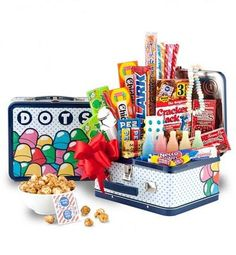 Nostalgia Candy Gift Basket