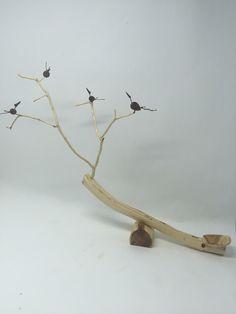 Driftwood, Bird, Crafts, Design, Woodwind Instrument, Blue Prints, Manualidades, Birds