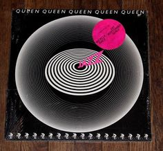 Queen Jazz Gatefold  Cover with Poster LP Vinyl 1978
