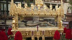 El Senado pide que la Semana Santa sea patrimonio de la UNESCO, Cristo Yacente, de la procesión sevillana del Santo Entierro, atribuido a Juan de Mesa.