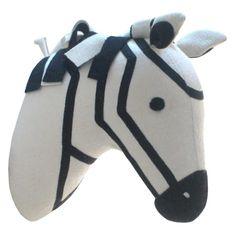 Zebra head, Target Pillowfort