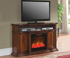 Fireplace tv stand and Living rooms