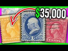 10 SUPER RARE STAMPS WORTH MONEY - EXTREMELY VALUABLE STAMPS - YouTube Old Stamps, Rare Stamps, Vintage Stamps, Stamp Collection Value, Postage Stamp Collection, Pin Collection, Valuable Postage Stamps, Postage Stamp Art, Rare Coins Worth Money