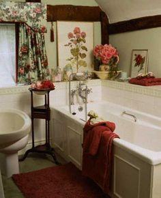 pink brown bathroom - Google Search