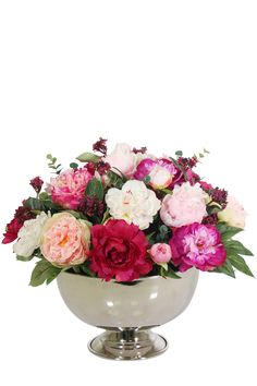 Silk Floral Arrangements, Vase, Home Decor, Silk Flower Arrangements, Decoration Home, Room Decor, Jars, Vases, Interior Decorating