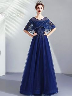 Pearls NavyBlue Lace-Up Toastmaster Floor-Length Evening Dresses Pretty Dresses, Sexy Dresses, Beautiful Dresses, Fashion Dresses, Ribbed Knit Dress, Different Dresses, Evening Dresses Online, Club Dresses, Homecoming Dresses