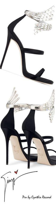 Giuseppe Zanotti Design   Crystal Anklet Sandal   SS 2017   cynthia reccord #giuseppezanottiheelszapatos #giuseppezanottiheels2017