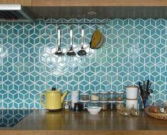 carrelage murale castorama de couelur bleu claire