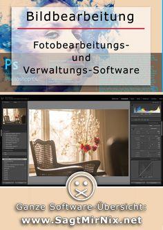 Fotografie-Tipps: Welches Programm für die Bildbearbeitung, Foto- und RAW-Entwicklung? Oder die Verwaltung der eigenen Foto-Sammlung? Neben Adobe Photoshop, Lightroom und co. gibt es viele einsteigerfreundliche Programme sogar kostenlos. Hier einige Ideen für dich!
