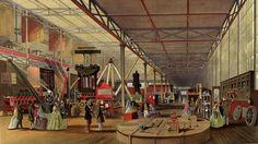 Машиностроительный отдел выставки 1851 г Лондон