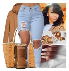 """lloyd::cupid"" by lamamig ❤ liked on Polyvore featuring MANGO, MCM and UGG Australia"
