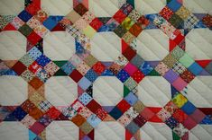 Marie's Quilts: Nine Patch -- on Point