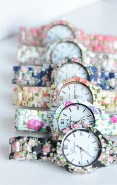 Deluxe Spring Floral Watch {Jane Deals}