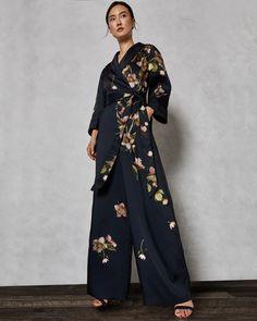 0a4d68d9cf7f KENSIDY Arboretum pyjama jumpsuit #TedToToe Blue Playsuit, Latest Fashion  Design, Fashion Line,