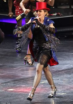 Hitting her stride: Madonna will continue on with her Rebel Heart Tour with a performance ...