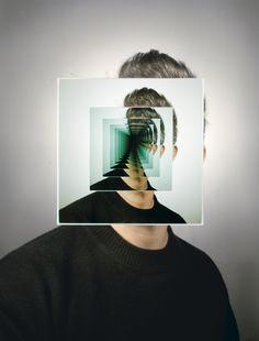 Portal, 2010 - by Matthew Spiegelman USA Distortion Photography, Shape Photography, Creative Photography, Portrait Photography, Photography Ideas, Three Way Mirror, Illusion, Double Exposure Photography, Montage Photo
