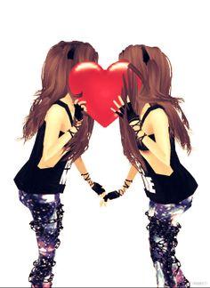 Me and my twinnyyy ^-^ love u ani ♥
