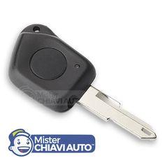 Cover / Scocca per telecomando Chiave 106 Peugeot con un tasto