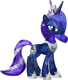 Crystal Princess Luna by ~HampshireukBrony on deviantART