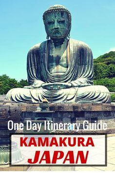 Guide and tips for visiting Kamakura with kids along with its nearby temples and the Great Buddha | Japan with kids. One day itinerary in Kamakura, Japan