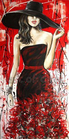 Best painting ideas on canvas people art oil 33 Ideas Simple Acrylic Paintings, Paintings I Love, Acrylic Painting Canvas, Canvas Art, Canvas Paintings, Diy Canvas, Canvas Size, Fashion Painting, Fashion Art