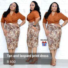 Tan and leopard print dress Elegance Boutique, Suits, Elegant, Chic, Dresses, Fashion, Classy, Shabby Chic, Vestidos