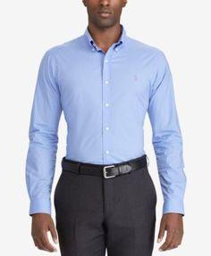 POLO RALPH LAUREN Polo Ralph Lauren Men'S Big &Amp; Tall Classic-Fit Poplin Shirt. #poloralphlauren #cloth #down shirts