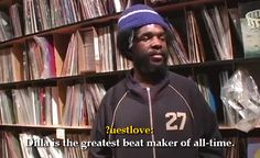 Quest Love on J Dilla in Behind the Groove