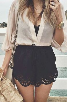 50 fascinating clothing ideas for summery outfits - Women Dresses for Every Age! Spring Summer Fashion, Spring Outfits, Summer Ootd, Short Outfits, Cute Outfits, Casual Outfits, Disney Outfits, Girly Outfits, Look 2018