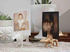 Fiche créative: Animaux porte-photo DIY