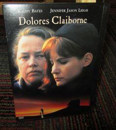 Dolores Claiborne Dvd Movie Kathy Bates Jennifer Jason Leigh Snap Case Guc Dolores Claiborne Dvd Online